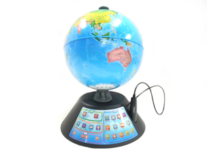 しゃべる地球儀パーフェクトグローブジオペディア正面