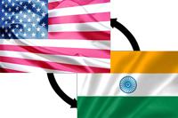 アメリカとインド
